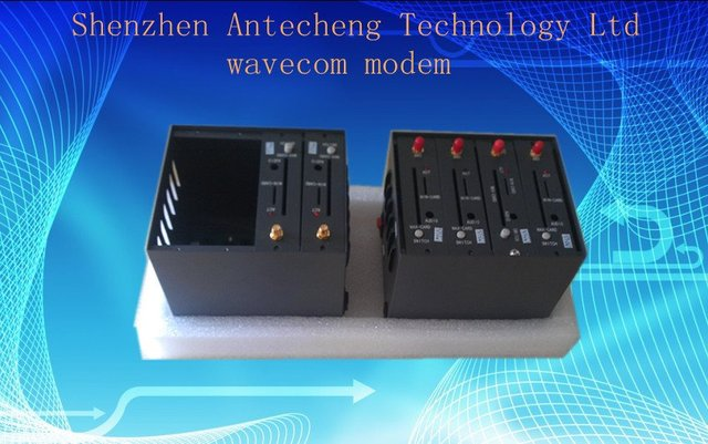 Dual band 4 port modem pool with Q2303 SMS sending