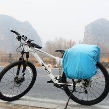 Bicycle Bag Rain Cover Rainproof Saddlebag Motorcycle Riding Rear Seat Bag Raincover Cycling Backpack Travel Bags Dustproof Cove(China)