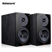Nobsound NS 1900 Wood 100W 1 Pair 5.5 inches Bookshelf Speakers 2.0 HiFi Column Sound Home Professional speaker