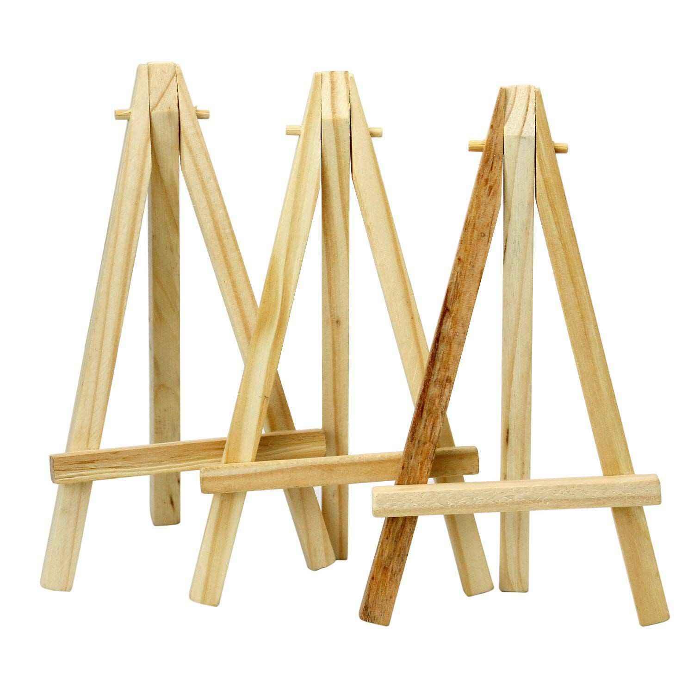 Миниатюрные 6 дюймовые высокие деревянные мольберты художественные проекты фото имя меню держатель настольного столика Праздничный Рождественский подстилка
