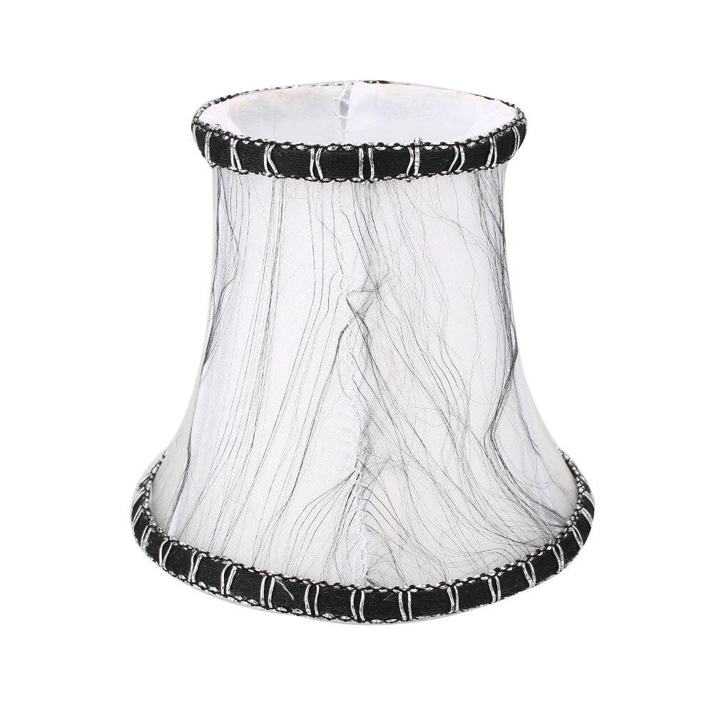 Старинная ткань Европейская хрустальная люстра со свечами настенный светильник абажур кафе - Цвет корпуса: 6