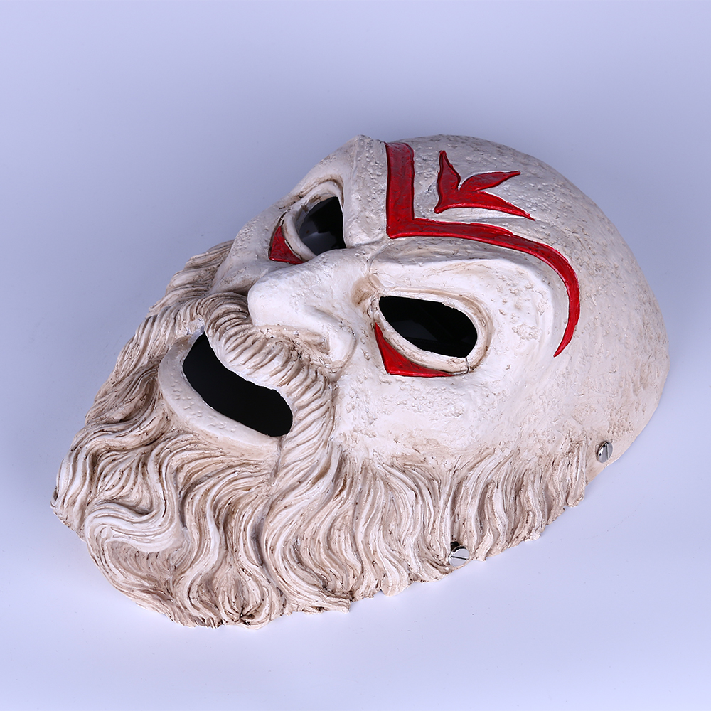 Game Assassin Creed Odyssey Hierarch Mask Resin Cosplay Accessories Halloween Props Prom Party Resin Mask Gift (12)