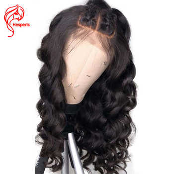 Hesperis 150 Density Silk Base Full Lace Human Hair Wigs Brazilian Remy Wave Silk Top Full Lace Wigs With Baby Hair Pre-Plucked - DISCOUNT ITEM  48% OFF All Category