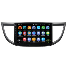 10.1″ Android 5.1 GPS Navigation Car Multimedia Player For HONDA CRV 2012-2015 Touch Screen Car Stereo Video Audio Free MAP