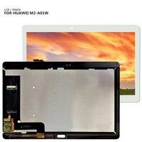 Для HUAWEI MediaPad M2 10,0 10,1 дюйма M2-A01L M2-A01W ЖК-дисплей и кодирующий преобразователь сенсорного экрана в сборе Бесплатные инструменты