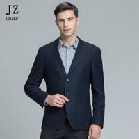 JZ CHIEF Korean Style Elegant Blazer Men Suit Jacket Solid Clothes 2018 Masculine Slim Fit Formal Blazer Business Jacket Coats