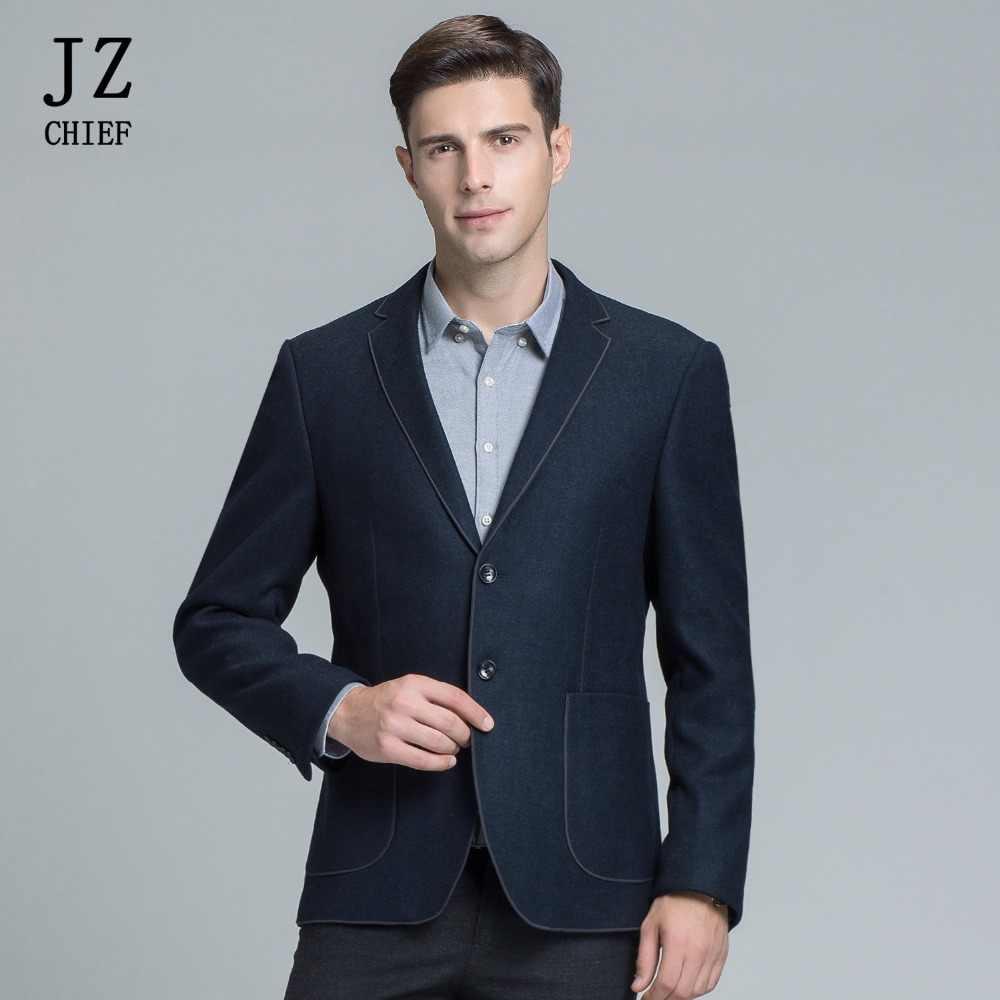 015504d192 JZ jefe estilo coreano elegante chaqueta Blazer hombres traje de chaqueta  de ropa 2018 masculino Slim