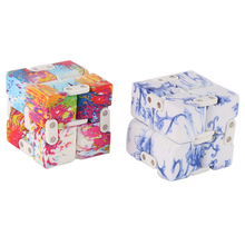 Magic Cubes Fidget Toy Finger EDC Anxiety Stress Relief Blocks Adult Children Kids Funny Toys Best