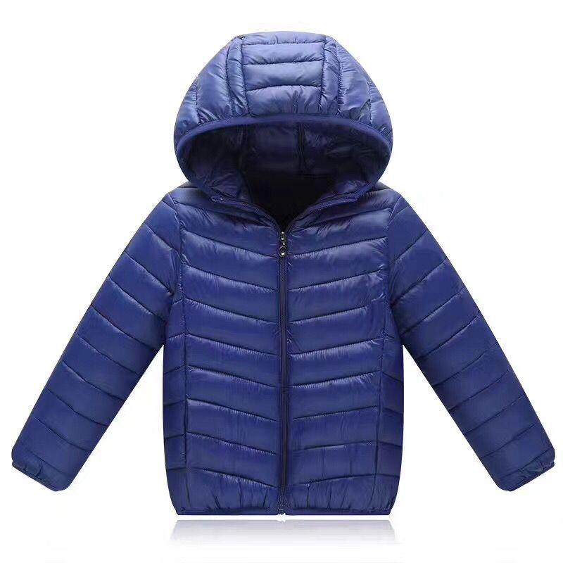 Children Coats Girl Warm Outerwear Jacket Autumn Winter Hooded Coat Teenager Jackets For Boys Kids Boy Girls Clothes Age 2-14Y цены