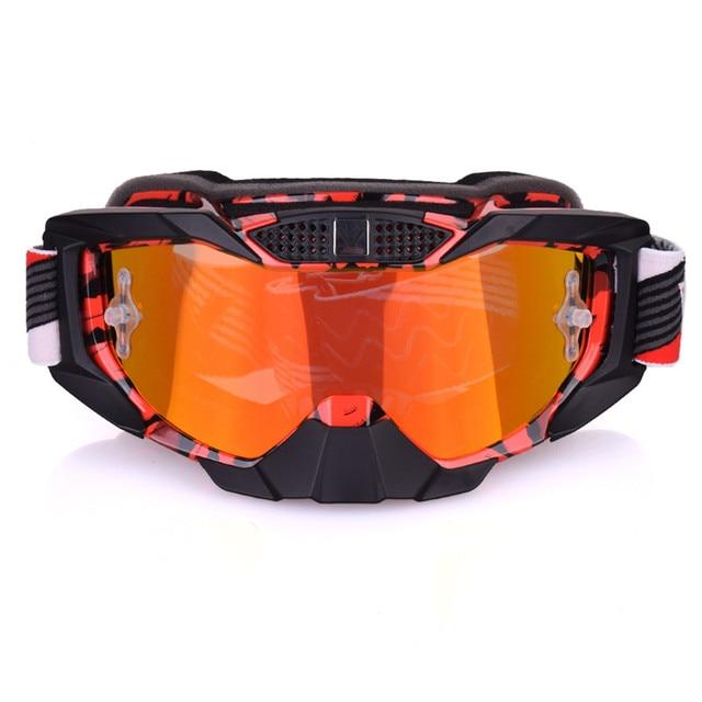 2017 Motocross gogle narty biegowe Snowboard ATV maska