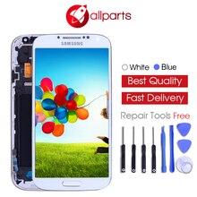 Хорошее 5,0 »Супер TFT ЖК-дисплей для SAMSUNG Galaxy S4 ЖК-дисплей Дисплей с рамкой GT-i9505 i9500 i9505 i337 i9506 i9515 Сенсорный экран планшета