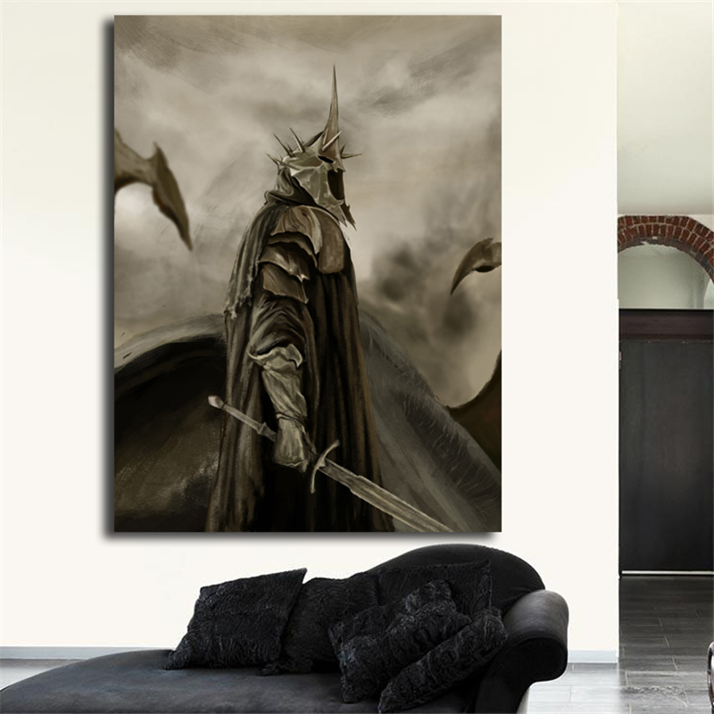 Lord Of The Rings Art Canvas Poster