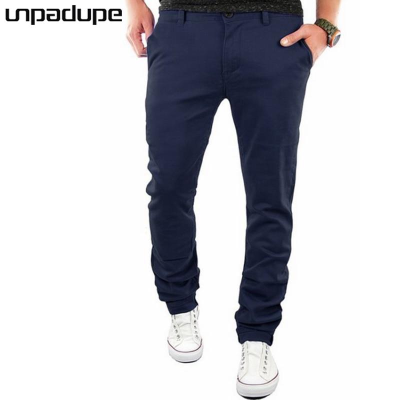 Unpadupe Brand Arrived 2018 Casual Joggers Business Compression Pants Men Cotton Trousers Calabasas Cargo Pants Mens Leggings