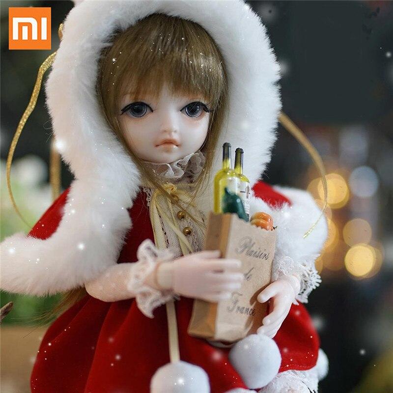 Xiaomi Monst BJD poupée Simulation Moe Ragdoll corps commun mode collecte poupée 30 cm usine Simulation poupées jouets cadeau pour fille