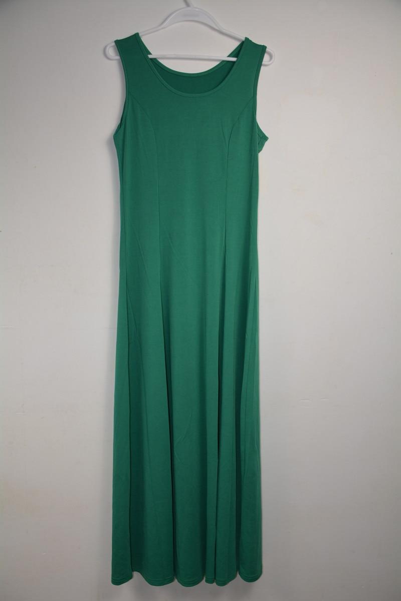 Летнее платье для женщин модное повседневное Макси платье размера плюс черные платья Бохо сарафан вечерние элегантные женские платья - Цвет: green vest