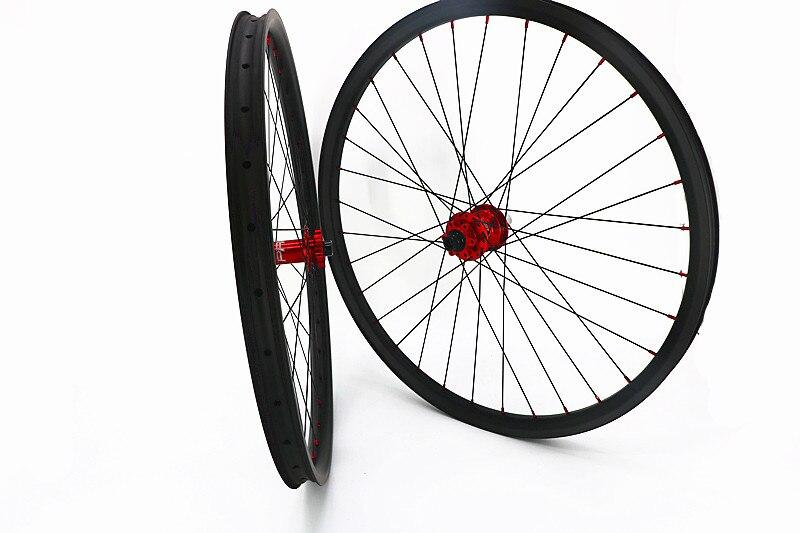 Углерода 29er горный велосипед колеса Топ надеюсь PRO4 концентраторы 100x15 мм 142x12 мм 27 мм 30 мм 35 мм горный велосипед колеса UD матовая 28 H 32 H глянцев