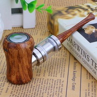 Tsondianz E Pipe Kit Electronic Hookah Pen 1050mAh Power Wooden Design E Pipe 30W Retro Electronic Cigarette Vape Pen