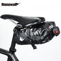 Full Waterproof Bicycle Saddle Bag Cycling Seat Bag MTB Road Bicycle Phone Holder Repair Tools Bag