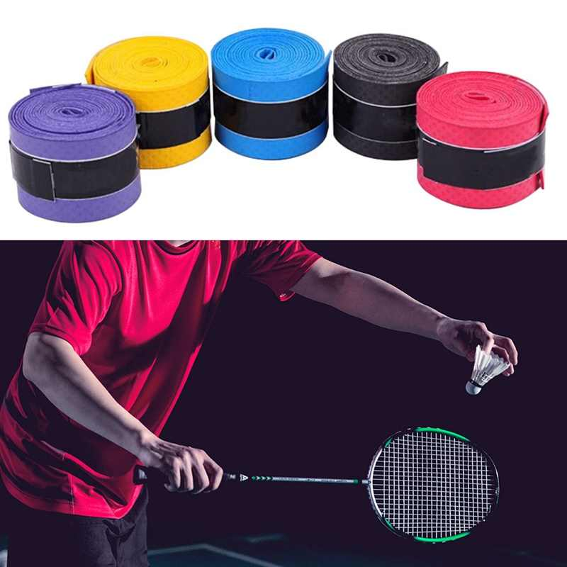 1 PC Anti-slip Sport Fishing Rods Over Grip Sweat band Griffband Tennis Tape Badminton Racket Grips Sweatband