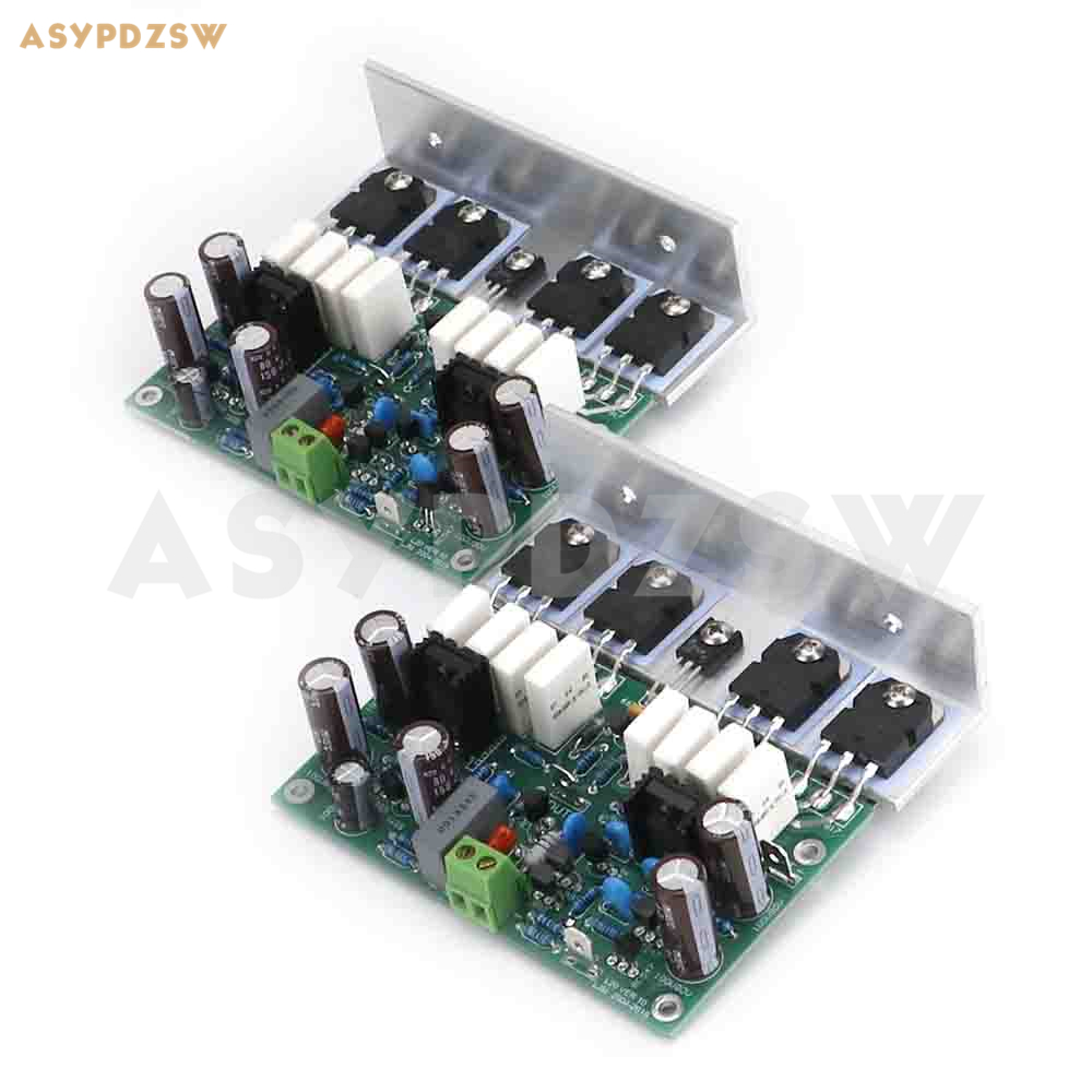 2PCS HI END L20 VER 10 Stero power amplifier finished board 200W 8R With angle aluminum