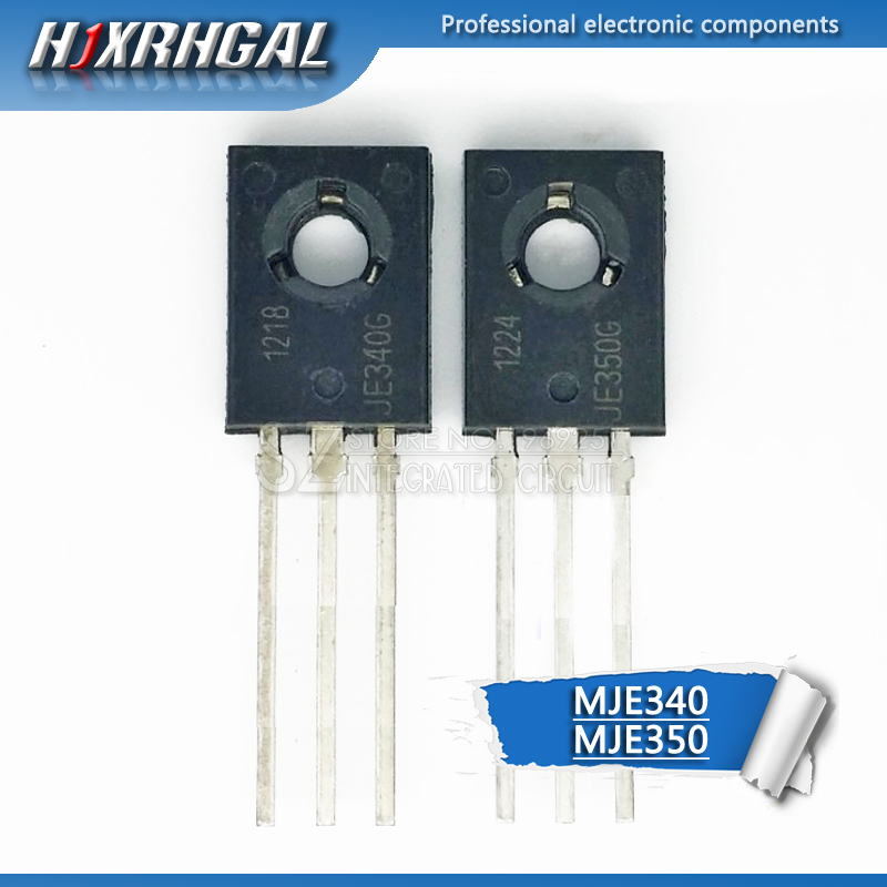 10 шт. (5 шт. MJE340 + 5 шт. MJE350) TO 126 KSE340 KSE350 TO126 новый оригинальный усилитель трубка HJXRHGAL|Интегральные схемы|   | АлиЭкспресс