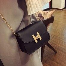 Envío Gratis 2019 nuevo tendencia bolsos de las mujeres de moda simple solapa coreana retro versión bolso de hombro cadena mujer mensajero bolsa