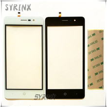 Syrinx With 3M Tape Mobile Phone Touchscreen Sensor For Doogee X10 Touch Screen Digitizer Touch Panel Glass Lens Free Shipping