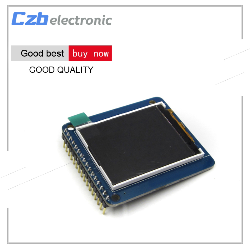 1pcs 1.8 inch TFT LCD Display Module with PCB Board ST7735R Drive IC 128*160 for Arduino