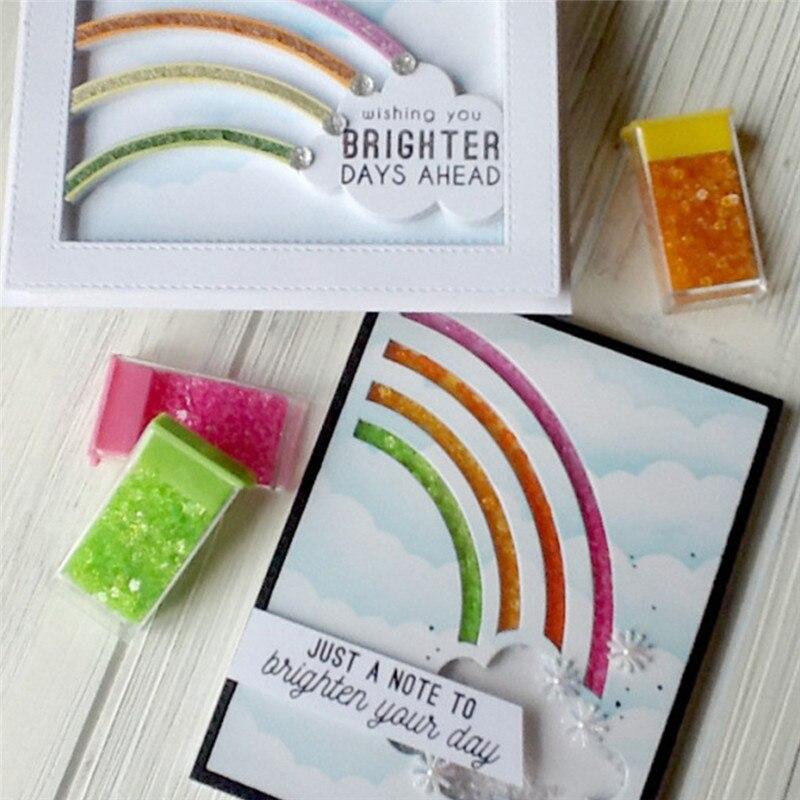Eastshape Rainbow Die Sets Cutting Dies New 2019 for Card Making Scrapbooking DIY Album Embossing Paper Craft Metal Die Cut in Cutting Dies from Home Garden
