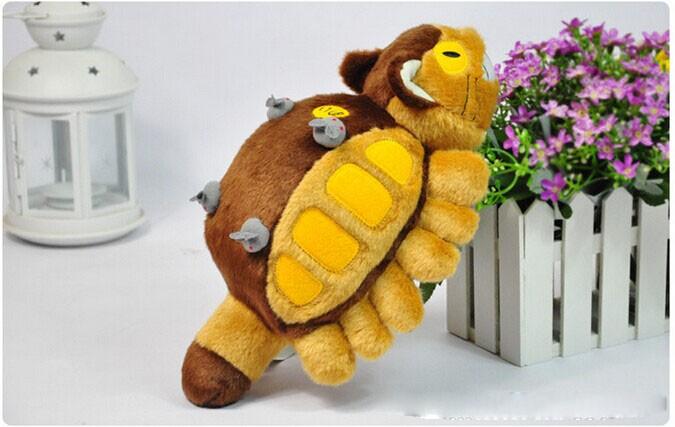 11.8-19.5 inch Totoro Fluffy Cat Bus Plush