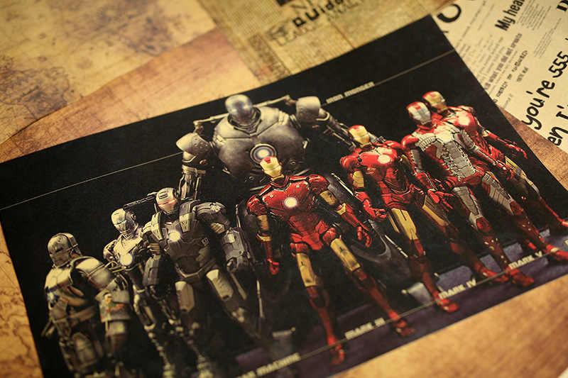 ألعاب رائعة من مارفل شخصيات الرجل الحديدي لألعاب الأكشن بوسترات سينمائية كلاسيكية 2019 بوسترات جديدة لماكينة الحرب الرجل الحديدي ديكور المنزل