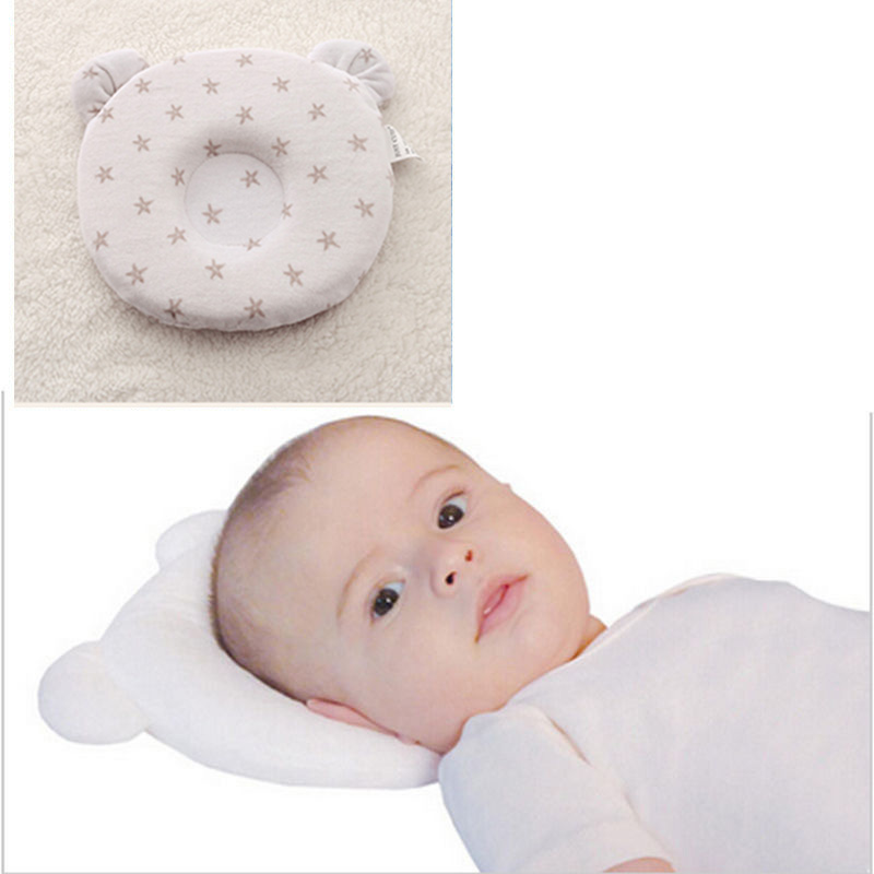 just cute brand high quality concave adorable baby panda anti-migraine pillow shape memory foam pillows