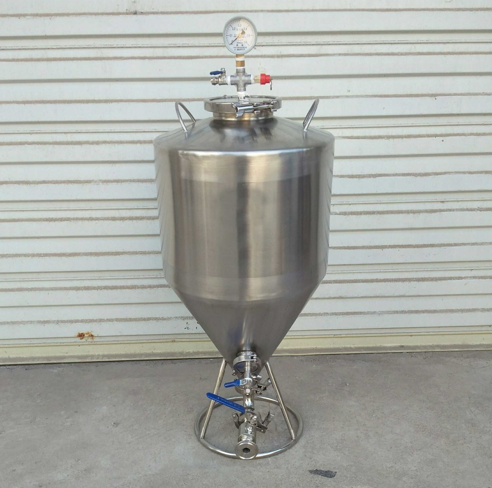 35l home brew conical beer fermentation tanks micro for Craft a brew fermenter