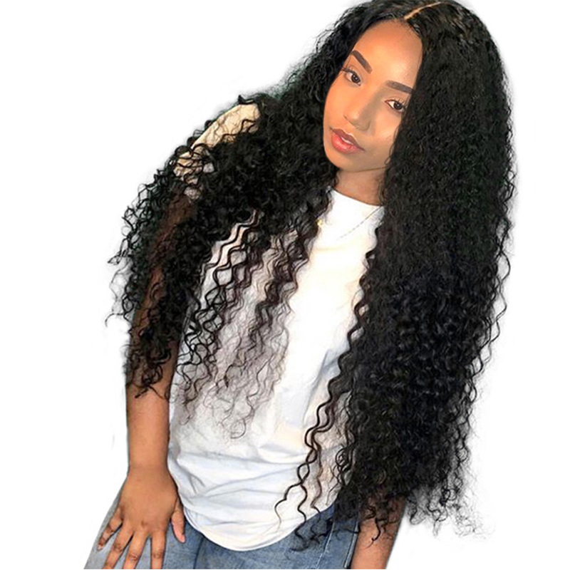 Human Hair Lace Wigs 13x6 Deep Part Lace Front Human Hair Wigs Pre Plucked 180 Density Brazilian Curly Human Hair Lace Wig Natural Hair Prosa Remy
