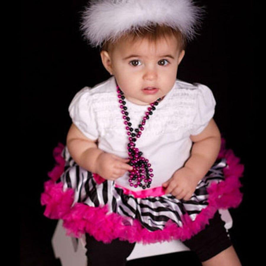 Детская юбка-пачка с рисунком зебры, крошечные юбки для новорожденных, Подарочная детская юбка-пачка