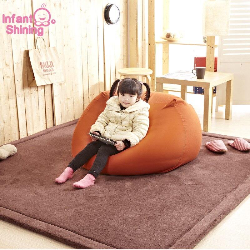 Tapis de salon tapis pour enfants bébé tapis de jeu 180*200*2 cm enfants développement tapis Puzzle épaissend mousse corail velours