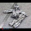 """1:6 Figura de Ação Acessórios Brinquedos Modelo Soldado Camuflagem Com Capuz de Roupas de Neve Para 12 """"Boneca Figura Brinquedos"""