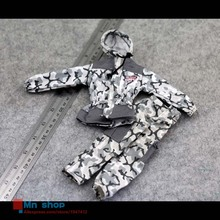 1:6 Action Figure Accessories Toys Soldier Model Clothes Snow Hooded Camouflage For 12″ Figure Doll Toys