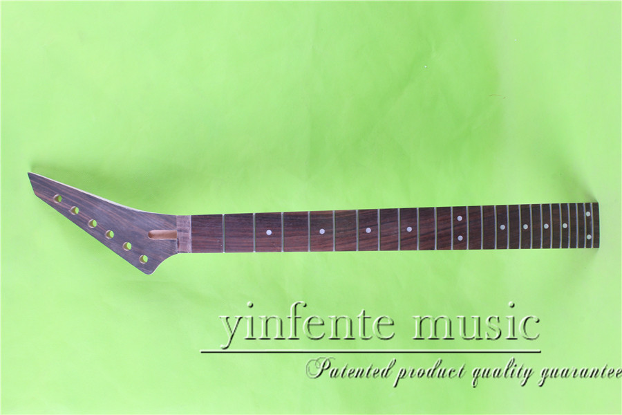 JKX-0079+2#  right    25.5 Electric guitar neck   Bolt on  rosewood    fingerboard fine quality  24 fret