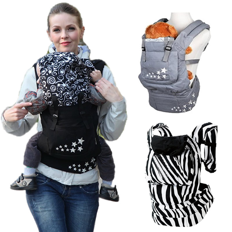 Ergonomic Baby Carrier Backpack Cotton Baby Carrier Wraps Newborn Baby Sling Mochila Portabebe Ergonomico Baby Kangaroo BD01