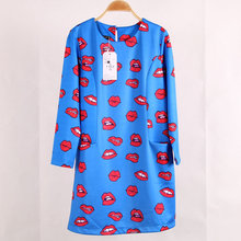 Casual Pocket 3/4 Sleeve dress