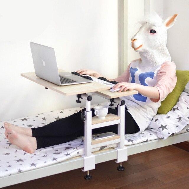 Computer portatile scrivania e letto con pieghevole scrivania camera ...