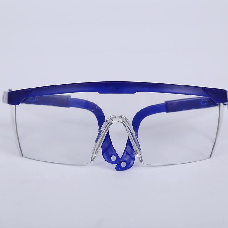 Низкая стоимость ПК Защитные очки Очки охраны труда защита глаз пыле брызгонепроницаемые Очки Детская безопасность