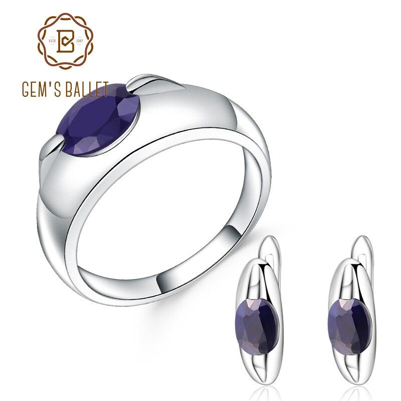 Conjunto de joyas de piedras preciosas triangulares de Plata de Ley 925 para boda y compromiso-in Conjuntos de joyería from Joyería y accesorios    1