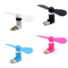Mini Fan Portable  USB Cooler Cooling mini Fan 5Pin Smartphone USB Fan Portable Mini Fan For Xiaomi android Phone