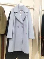 2018 New Good Quality Heat Insulated Long Wool Coat For Women Warm Long Sleeve A Women