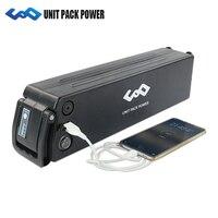 36V 12Ah Silverfish battery with USB port 36V Li ion Battery for electric bike 500W 350W 250W Bafang/8FUN BBS01