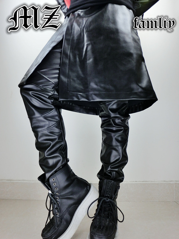 Popular Leather Skirt Men-Buy Cheap Leather Skirt Men lots from ...