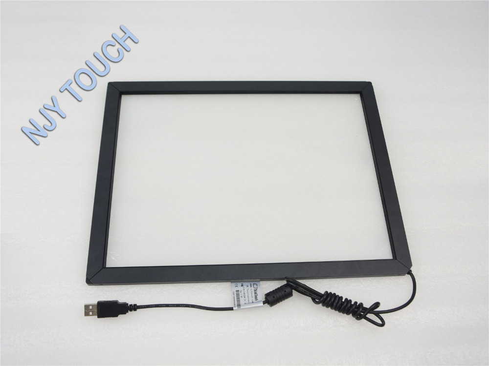 New 17inch Infrared Touch Screen Panel 376x308mm Frame Win 7/8 Android 5:4 USB Driver 4 Points sno katt w14101198223