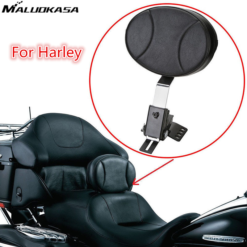 MALUOKASA Adjustable Plug-In Driver Rider Backrest Kit For Harley Touring FLTR FLHT 1997-2010 2011 2012 2013 2014 2015 2016 2017 bigbang 2012 bigbang live concert alive tour in seoul release date 2013 01 10 kpop